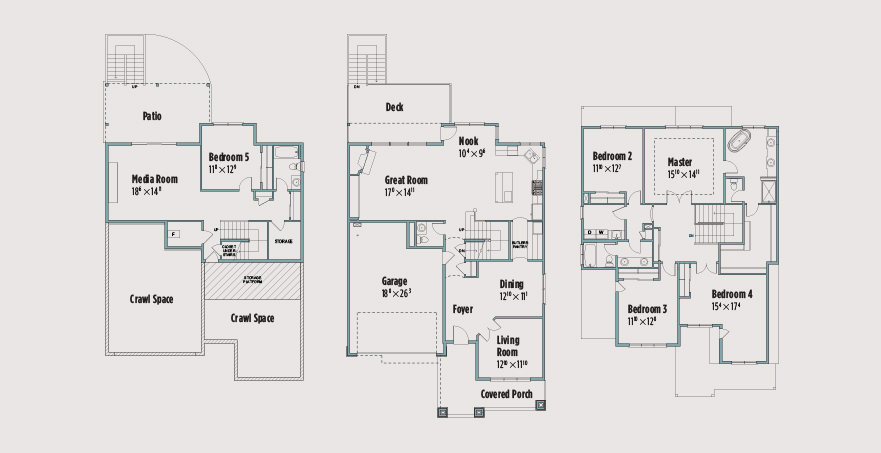 Easton american west hills homes nw American west homes floor plans