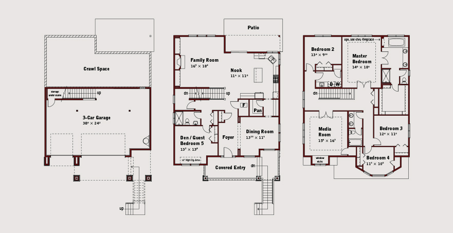 Coralwood American Floor Plan Preview